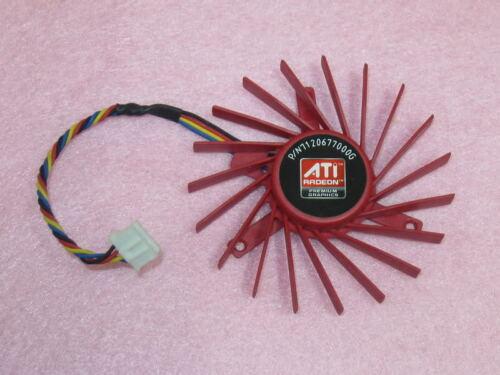 60mm ATI Radeon HD3850 HD4850 AMD W7000 Fan Replacement 39mm 4Pin PLD06010B12HH