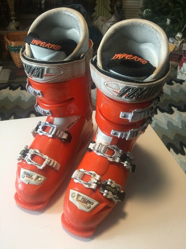 Tecnica Diablo Inferno 130 SKI Boots 305mm 7.5 orange   special offer