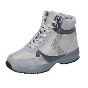 Scarpe Bambina LUMBERJACK 32 EU sneakers grigio camoscio BM363-32