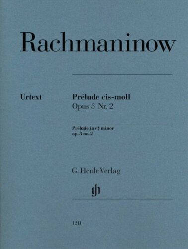 Serge Rachmaninoff Prelude in C-sharp minor Op 2 Sheet Music Pi 051481211 3 No