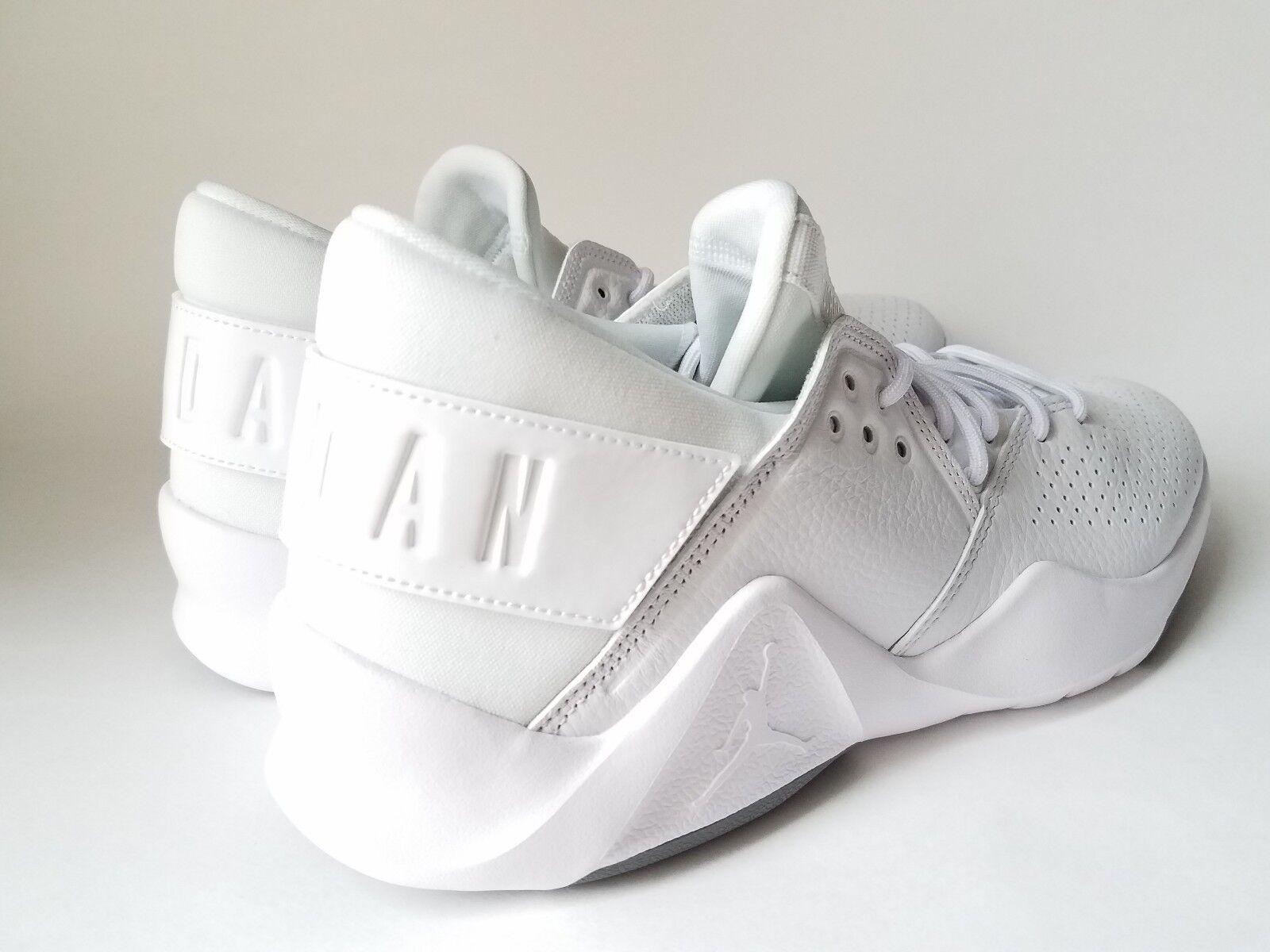 premium selection 993cf 54f52 ... Nike Jordan Flight Fresh PREM Premium Low White White White Men Basketball  shoes size 10 614bbc ...