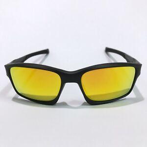 Oakley Sunglasses * Chainlink 9247-03 Matte Black Fire Iridium COD PayPal