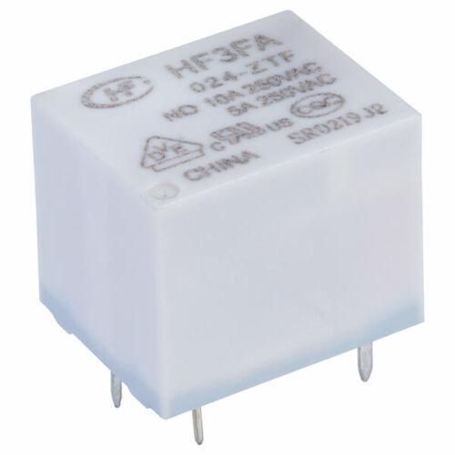 Hongfa HF3FA//024-ZTF PCB Relay 5VDC SPDT 15A