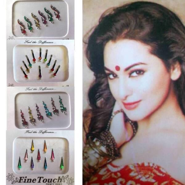 Bindis Indisch Stirnschmuck Bollywood Body Sticker Tikka Selbstklebend Karneval Klar Und GroßArtig In Der Art