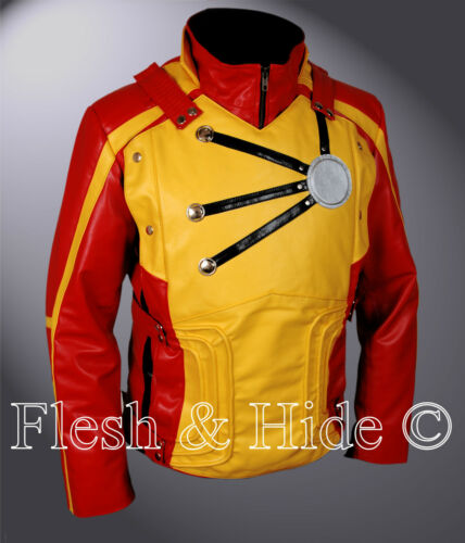 Firestorm Legends of Tomorrow Franz Drameh Jacket with removable shield