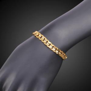 18k-feine-Goldkette-vergoldet-Armkette-extra-dick-Maenner-Armband-Herren-Damen