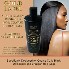 Keratin Hair Blowout Treatment Specifically for African Dominican Hair 240ml USA