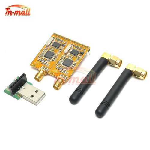 APC220 Wireless RF serial Data Modules With Antennas USB Converter Adapter