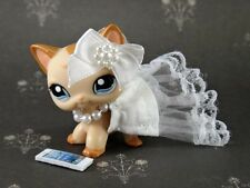 Littlest Pet Shop Wedding Day Pearls Cloths Custom Accessories Dress Outfit #39