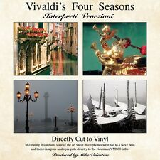 Vivaldi's Four Seasons By Interpreti Veneziani Vinyl LP (VALDC001)