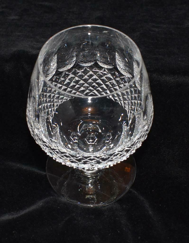4 Waterford Cristal Colleen Brandy Coupes - 13cmH - Excellent