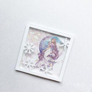 Stanzschablone-Rahmen-Schneeflocke-Weihnachts-Hochzeit-Geburtstag-Karte-Album