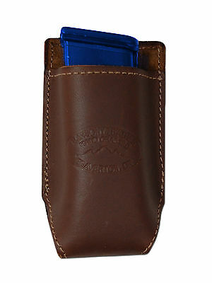 NEW Barsony Brown Leather IWB Holster Mag Pouch for Taurus Compact 9mm 40 45