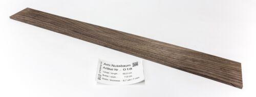 Tonewood Walnut Griffbrett 65x7,0 x 0,7 cm  Tonholz Guitar Builder Neck Luthier