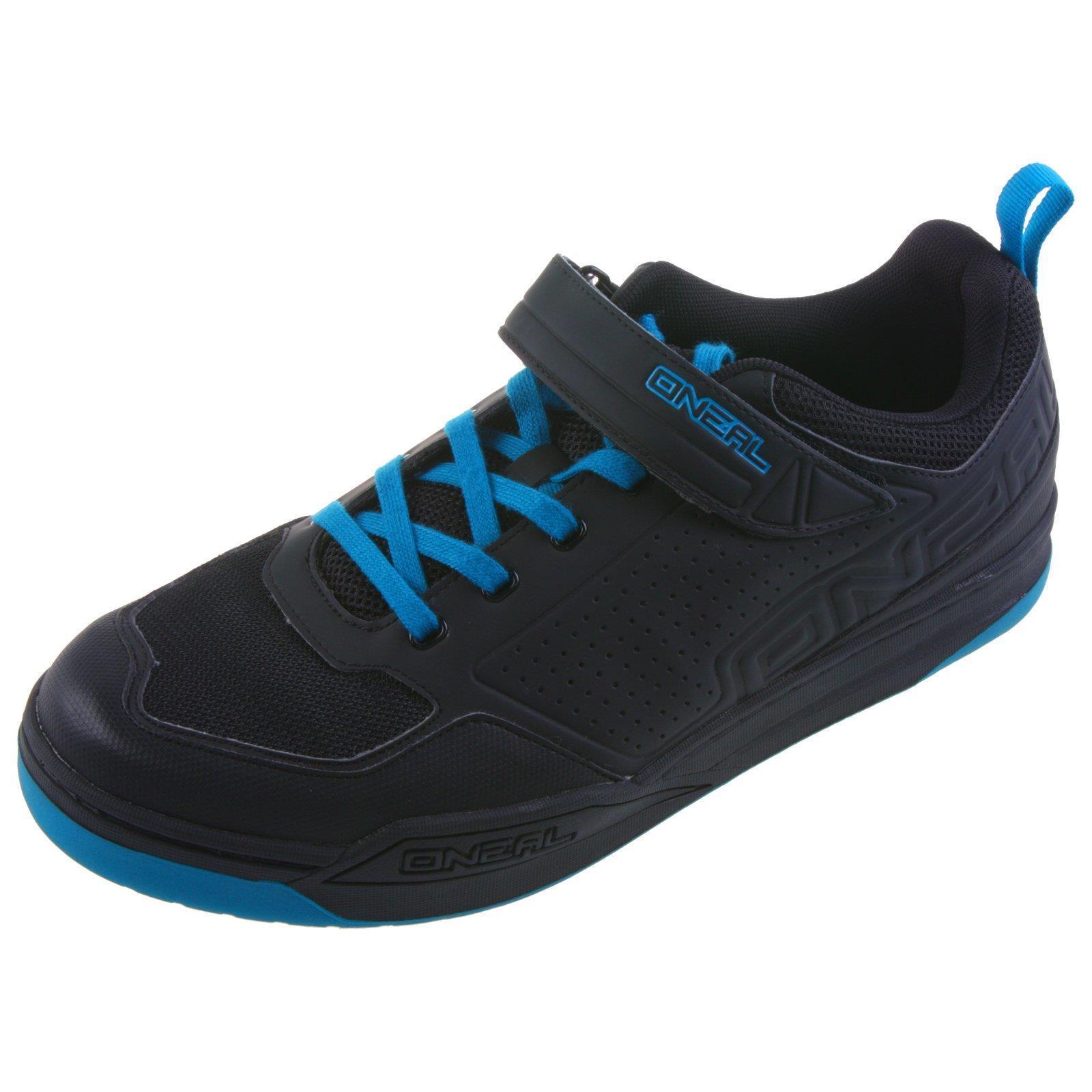 O  'neal Flow spd pedal de bicicleta zapatos zapatillas MTB BMX DH FR All mountain azul 45  los nuevos estilos calientes