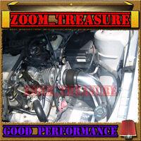 Black Red 1997-2003/97-03 Chevy Malibu Base/ls 3.1l V6 Cold Air Intake Kit 2p