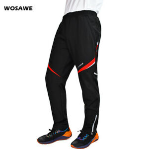 Windproof Bike Cycling Trousers Winter Thicken Pants Bicycle Riding Underpants