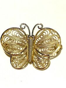 14k-Yellow-amp-White-Gold-Butterfly-Pin