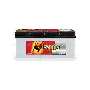 Batterie voiture  Banner Power Bull Pro P10040 12v 100ah 800A 353x175x190mm