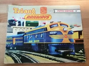 Very Rare Vintage Tri-ang Triang Catalogue - Model Railways - 5th Edition - 1959