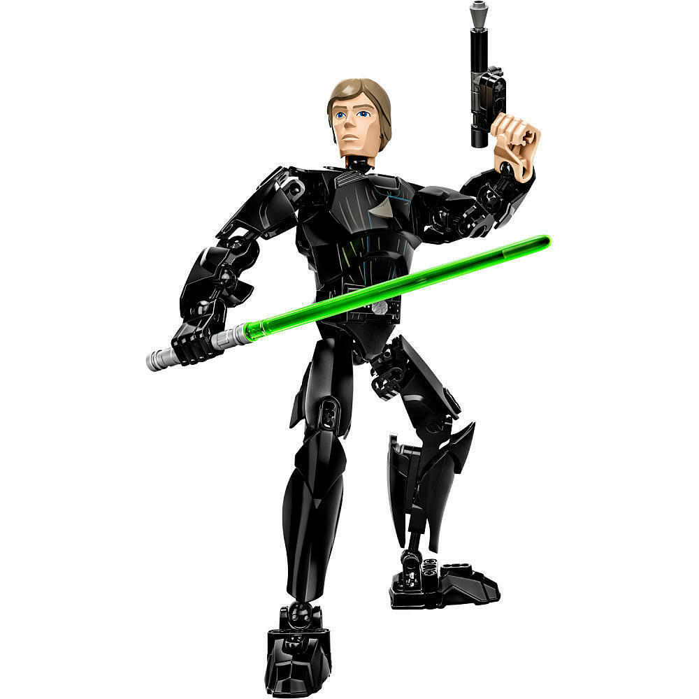 LEGO Star Wars LUKE SKYWALKER buildable figure pcs SAME DAY SHIP
