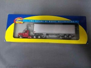 Athearn-91922-Graves-Truck-Lines-Kenworth-with-40-039-trailer-1-87th-scale