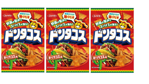 Koikeya-Don-Tacos-Tortilla-Chips-Chili-Taco-flavor-Snack-58g-3pcs-Japan