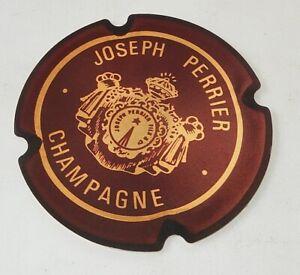 CP-pub-CHAMPAGNE-Joseph-PERRIER-Les-Prestigieuses-Maisons-de-CHAMPAGNE-Capsule