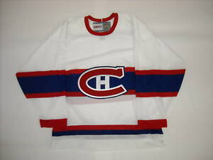 Montreal Canadiens Centennial 1945 46 Vintage Jersey Xl Ebay