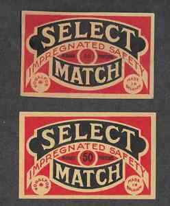 Ancienne étiquette Allumette Belgique BN2257 Sélect 2qbES06V-09164307-753668939