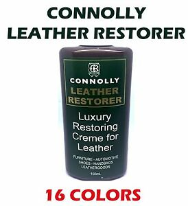 LEATHER RESTORING CREAM 150ML CONNOLLY - OVER 16 COLORS - AU SELLER