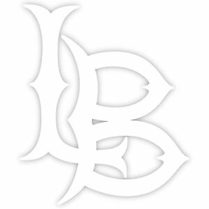 lb logo. image is loading long-beach-lbc-5-034-logo-vinyl-decal- lb logo