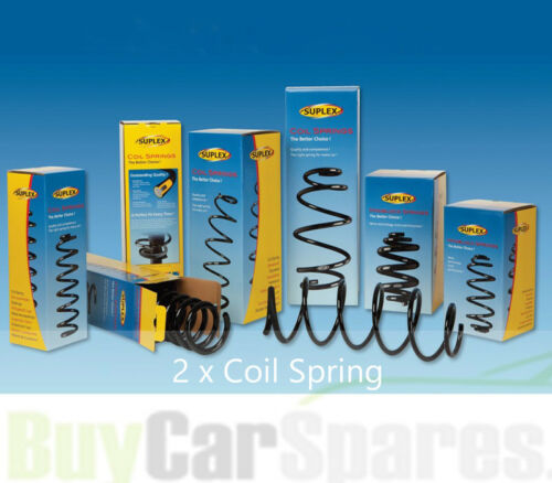 Fit with VW CADDY Front Suplex Coil Spring in Pair 39325