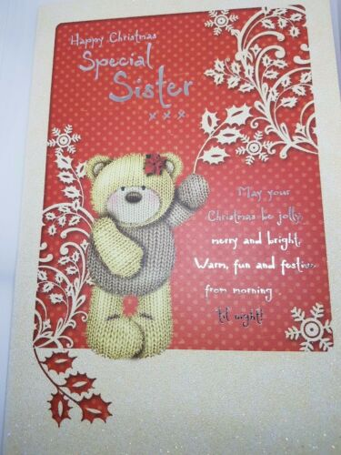 BEAUTIFUL TO /'/'SPECIAL SISTER/'/' CHRISTMAS GREETING CARD