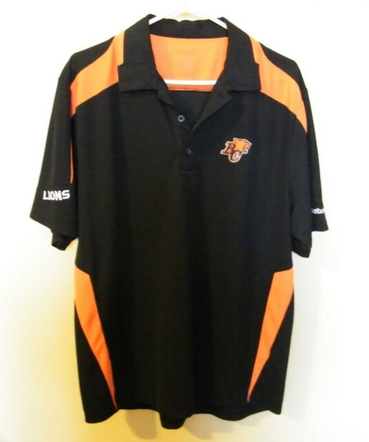 B.C. LIONS /   CFL  / REEBOK / FOOTBALL SHIRT.