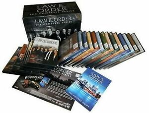 Law-and-Order-The-Complete-Series-DVD-104-Disc-Set-Seasons-1-20-FREE-SHIPPING