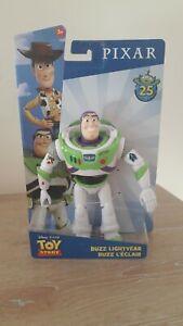 Mattel Disney Pixar Toy Story 4 Buzz Lightyear Action Figure