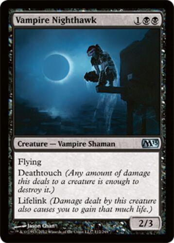 Vampire Nighthawk MTG Magic M10+ *MRM* ENGLISH Faucon de Nuit Vampire