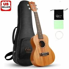 BRAND NEW Hricane Solid wood Professional Ukulele Kit With Standard Carry Bag US
