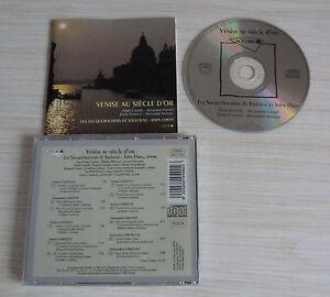 CD-ALBUM-VENISE-AU-SIECLE-D-039-OR-LES-SACQUEBOUTIERS-DE-TOULOUSE-ET-JOHN-ELWES-1995