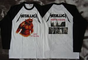 Metallica-Official-Longsleeve-Jump-In-The-Fire-Thrash-Metal-Classic-Neu-amp-Groesse