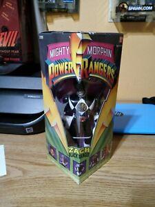 "Power Rangers Zach 8"" 1993 action figure BRAND NEW UNOPENED"