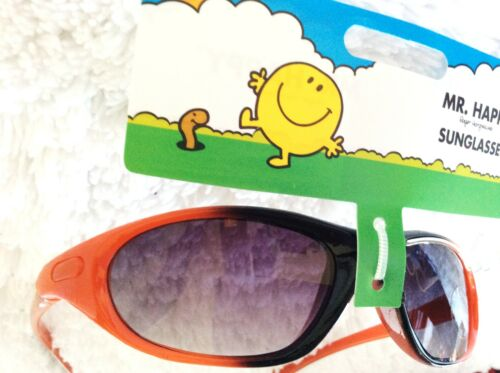 BOYS EXCELLENT HIGH QUALITY SKIING SUNGLASSES MR HAPPY UV PROTECTION BNWT