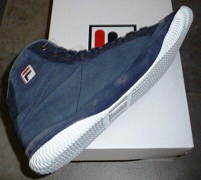 Amichevole Scarpe Fila Vintage 1911 Reale Mid Washed - Man Fila 100th Anniversary Shoes Risparmia Il 50-70%