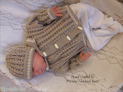 Precious Newborn Knits Knitting Pattern 32 Baby Or