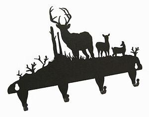 Buck-Deer-Key-Hook-Holder-Front-View