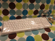 Apple White USB Keyboard for Mac NEW RARE SEALED FACTORY PLASTIC M7803 M8691LL/A