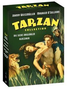 Details Zu Tarzan Collection Die Sechs Originalen Klassiker Dvd Johnny Weissmüller