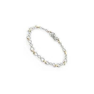 Armband Tennisarmband Diamanten 0,70 Karat weiße Wesselton Brillanten Neu